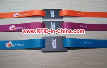 photograph about Printable Wristband known as RFID Printable Cloth Wristband Produced By means of Day-to-day RFID