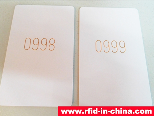 RFID Card With Laser Codes-03