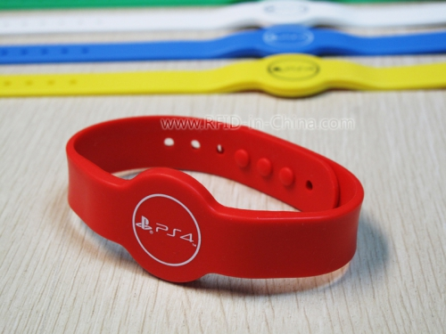 Silicone RFID Cartoon Wristbands-03