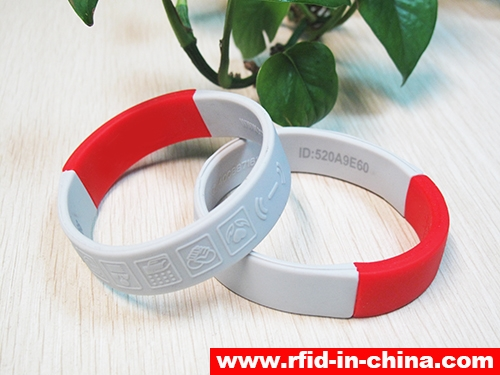 Waterproof Silicone RFID Dual Frequency Bracelets-04
