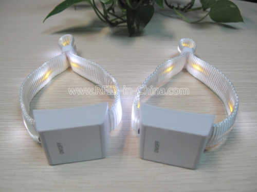 Switch Control LED Wristbands