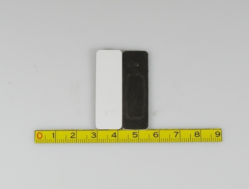 the front and back side of LF/HF RFID Metal Tag-18