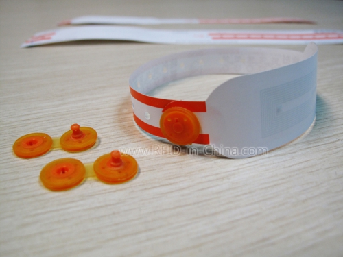 RFID Anti-bacterial Wristband for New-born Baby