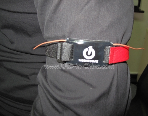 RFID Armbands for long distance reading