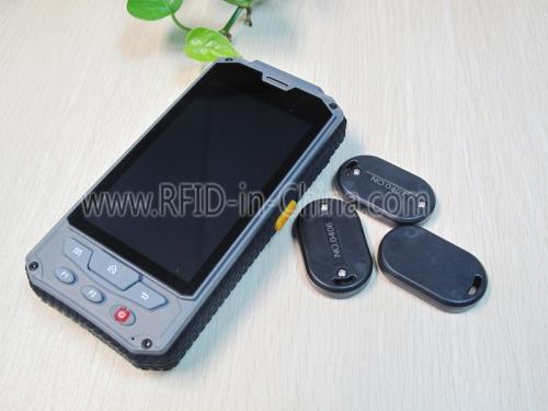 Active RFID Portable Scanner for Asset Management System