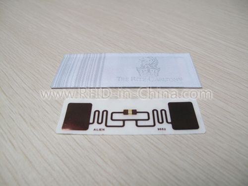 RFID Clothing Tag for costume tracking