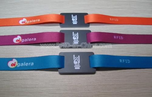 RFID Fabric Wristbands