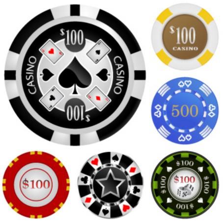 Casino token RFID Chip-04