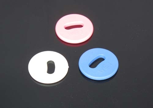 LF/HF RFID Laundry Tags (various colors)