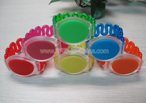 RFID Colorful ABS Wristbands-40