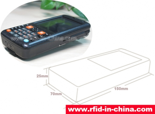 Cost-benefit Logistics Management RFID Handheld Reader-04