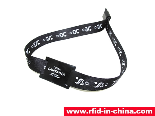 RFID One-Off Fabric Wristbands-71-03