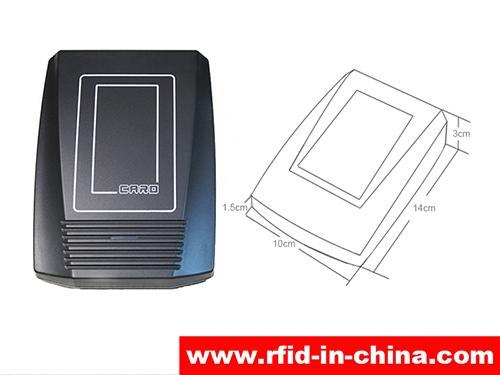 13.56MHz HF Desktop Reader For Punch Card System-01