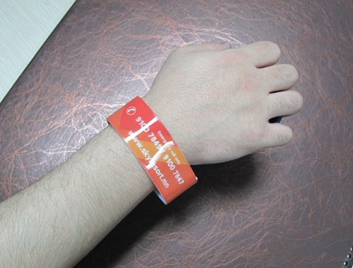 Colorful PVC RFID Wristband For Festival Access Control-04