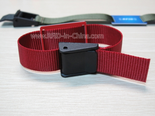 RFID Reusable Fabric Wristbands-43