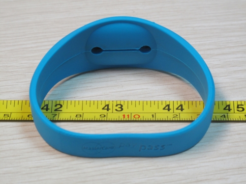 RFID Personalized Silicone Wristband