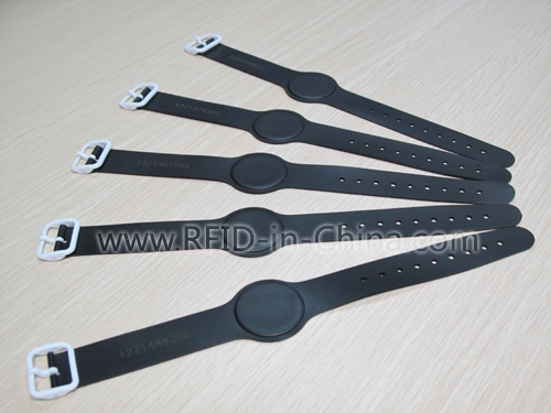 Adjustable Size & Waterproof LF/HF RFID Wristbands For Pool-01