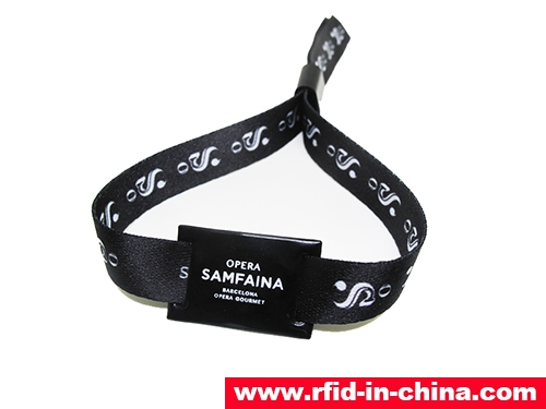 RFID One-Off Fabric Wristbands-71-02