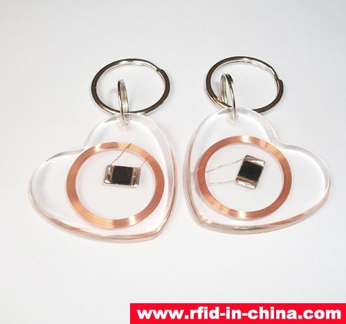 Crystal RFID Key Fob-03