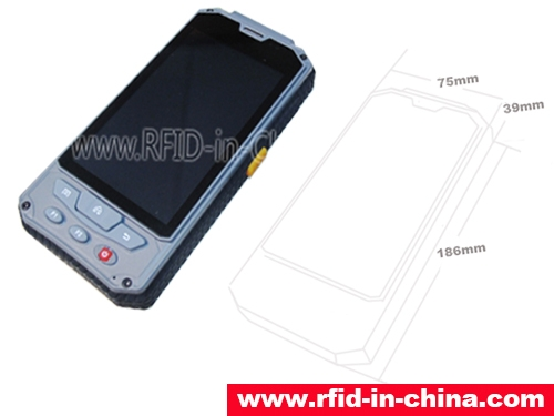 Active Bluetooth RFID Handheld Reader DL7800-Bluetooth
