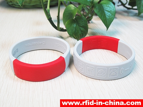Waterproof Silicone RFID Dual Frequency Bracelets-03