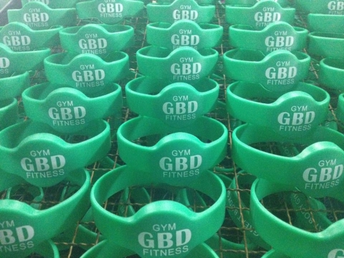 RFID Silicone Wristband with printing