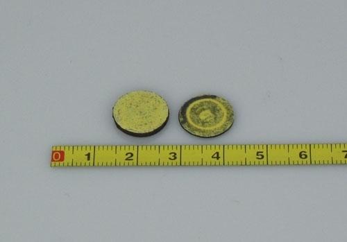 Mini RFID on-metal tags