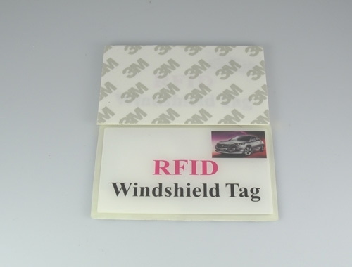 logo-printed RFID windshield tags