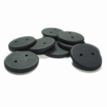 button-sized RFID laundry tags (available in various sizes)