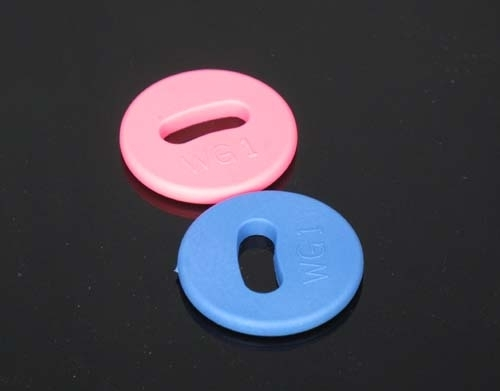 LF/HF RFID Laundry Tags (Pink / Blue)