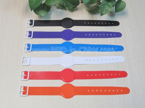 Colourful PVC RFID Bracelets-01