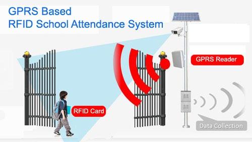 GPRS Based RFID School Attendance System
