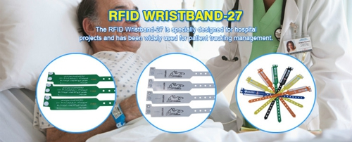 Patient Management RFID Wristbands