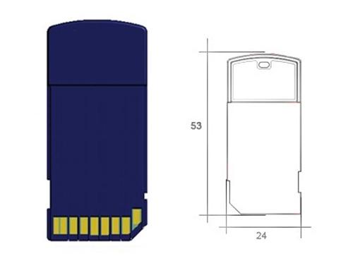 SD Interface RFID Reader