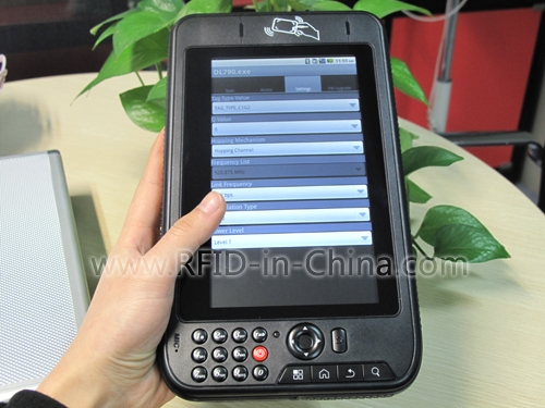 UHF Bluetooth Reader