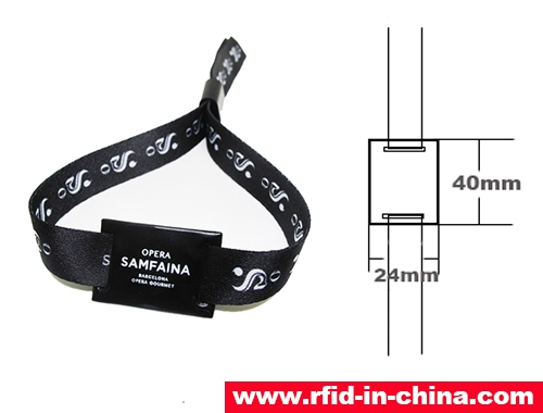 RFID One-Off Fabric Wristbands-71-01