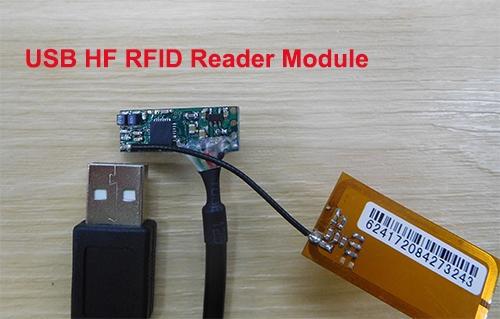 USB HF RFID Reader Module-01