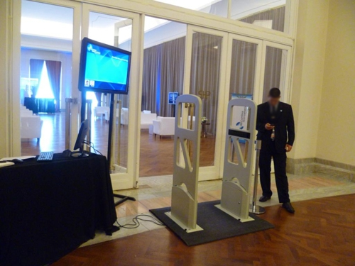 HF RFID Gate for Conference
