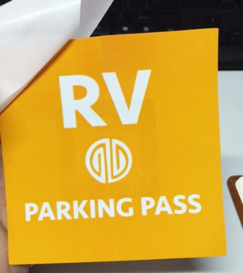 Customized Printing RFID Windshield Tags-02
