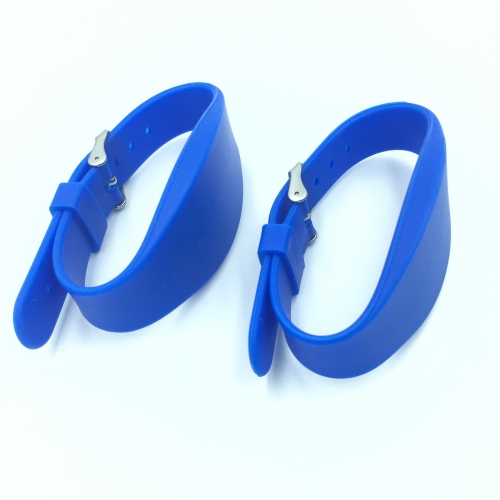 Iron ring Silicone RFID Wristband