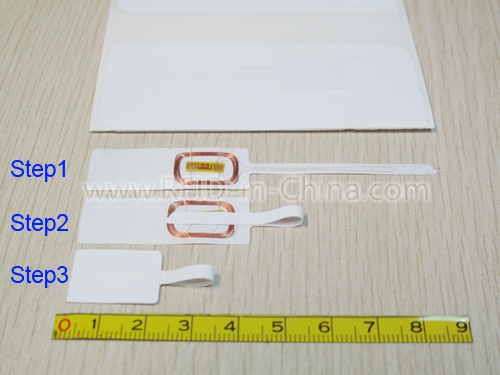 Disposable RFID Jewelry Tag for Jewelry Management