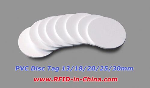 PVC RFID Disc Tag