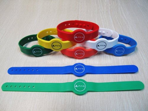Silicone RFID Cartoon Wristbands-02