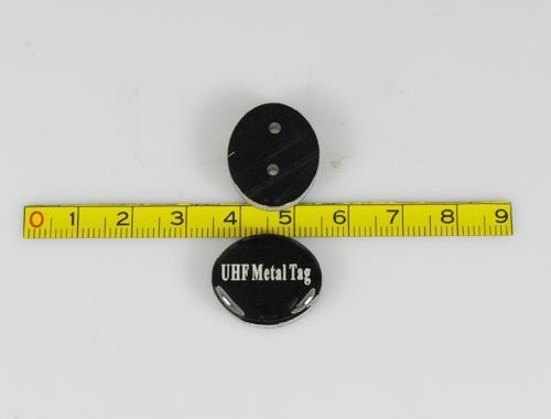 customized UHF metal tag (round)