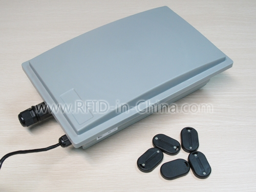 RFID Long Range Active Reader with GPRS