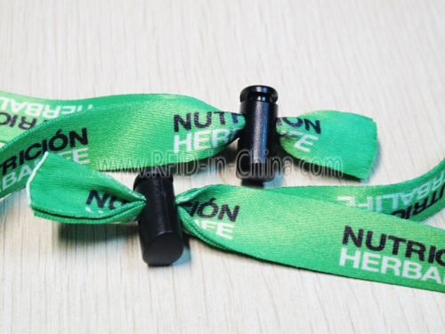 RFID Wristbands with Reusable  Clasp