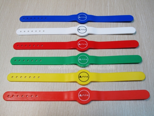 RFID Silicone Wristbands With Customized Logo-02