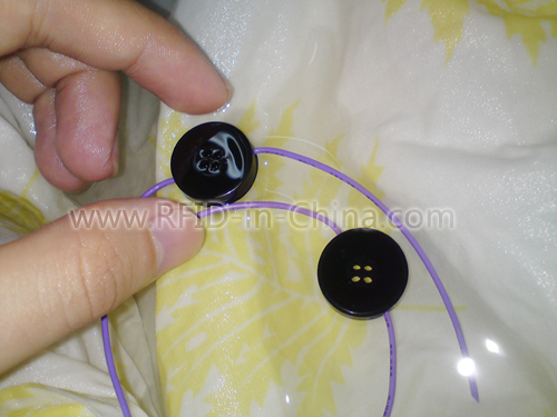 Waterproof RFID Button Laundry Tag-04