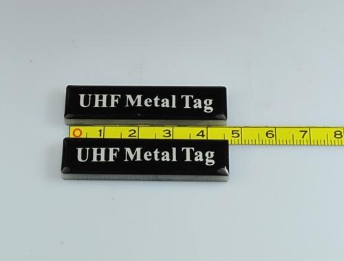 adhesive UHF metal tags