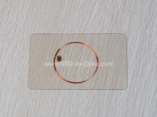 RFID Clarity Card